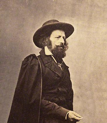 NPG P34; Alfred Tennyson, 1st Baron Tennyson by James Mudd