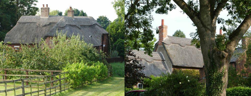 Cottages in Hameringham.